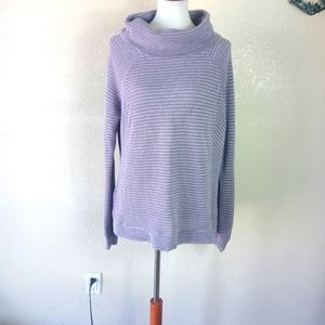 Long Sleeve Casual Ribbed Knit Sweater